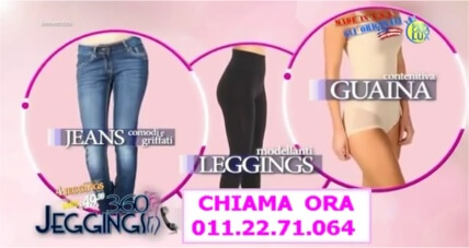 leggings guaina snellente